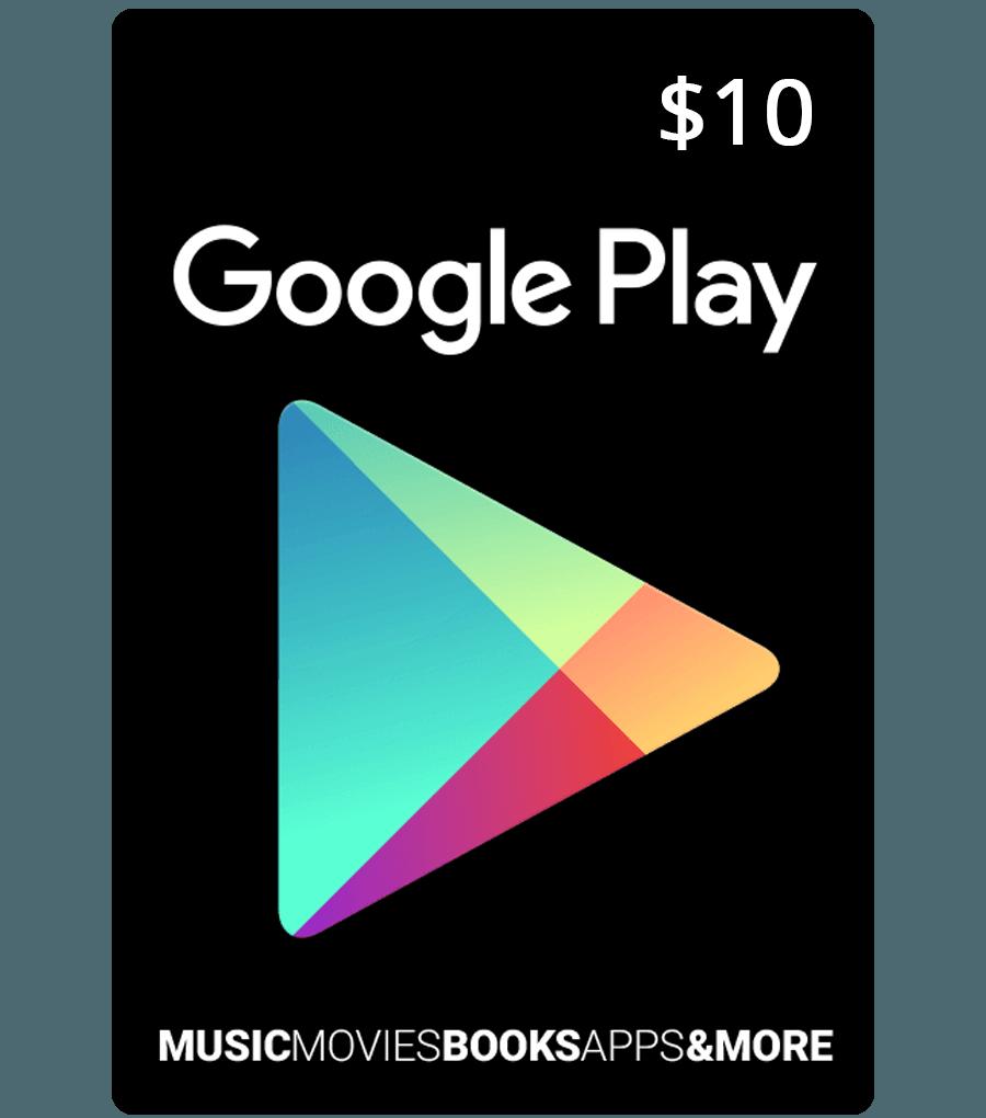 google play card in Bangladesh 10$