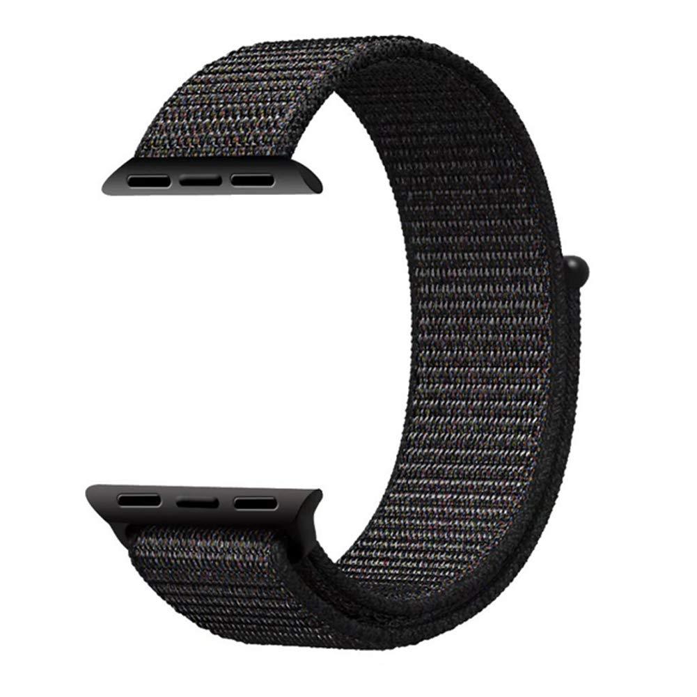 Apple Watch Nylon Sport Loop Black 6