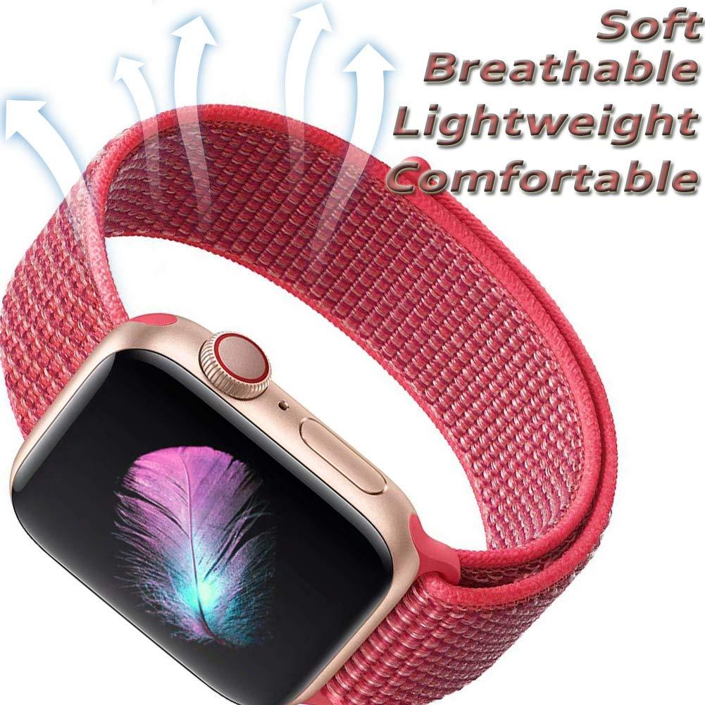 Apple-Watch-Strap-Sport-Loop-Red 5