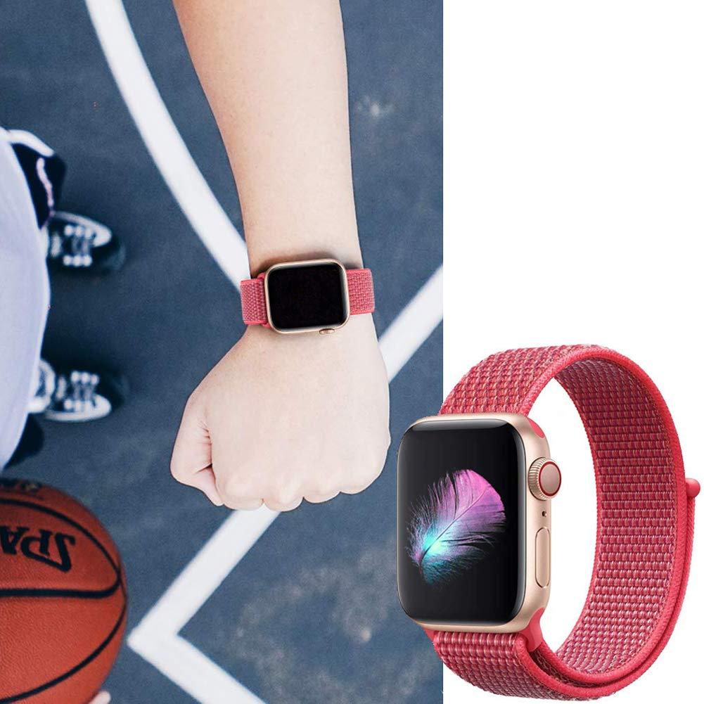 Apple-Watch-Strap-Sport-Loop-Red 6