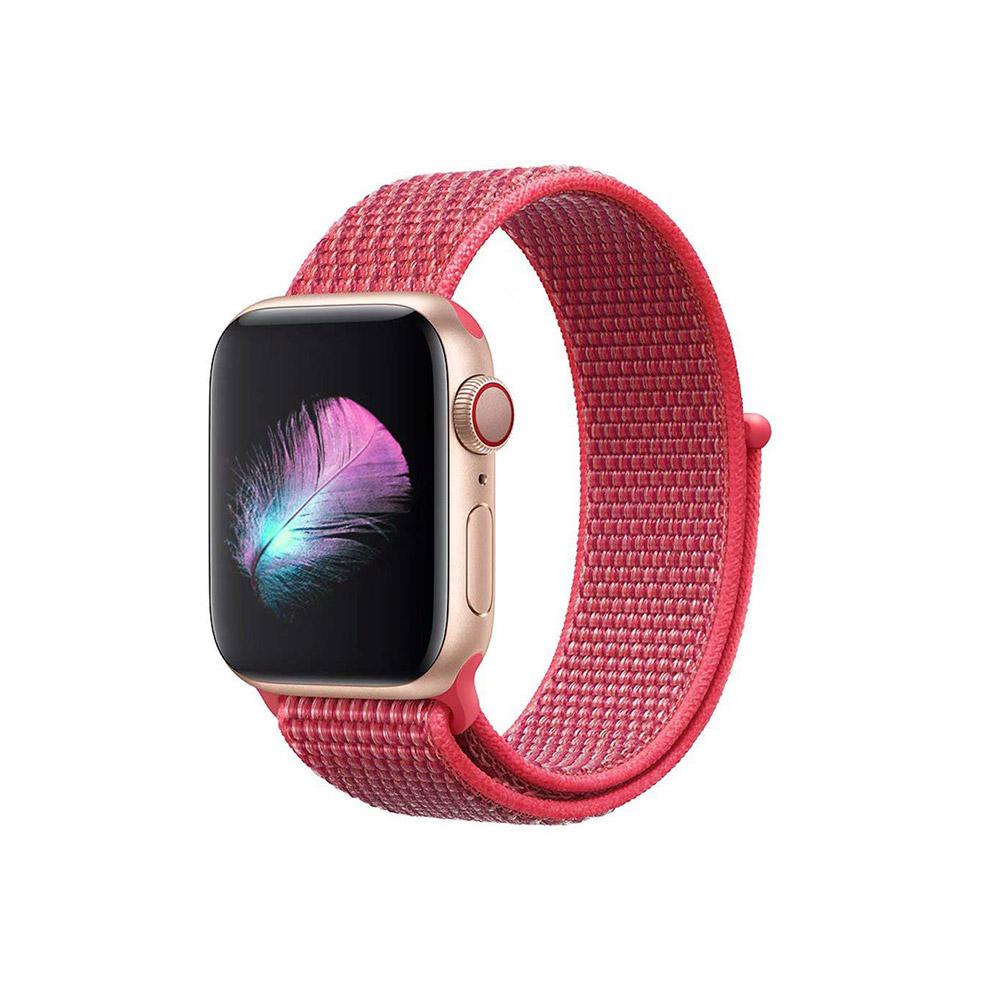 Apple-Watch-Strap-Sport-Loop-Red 2