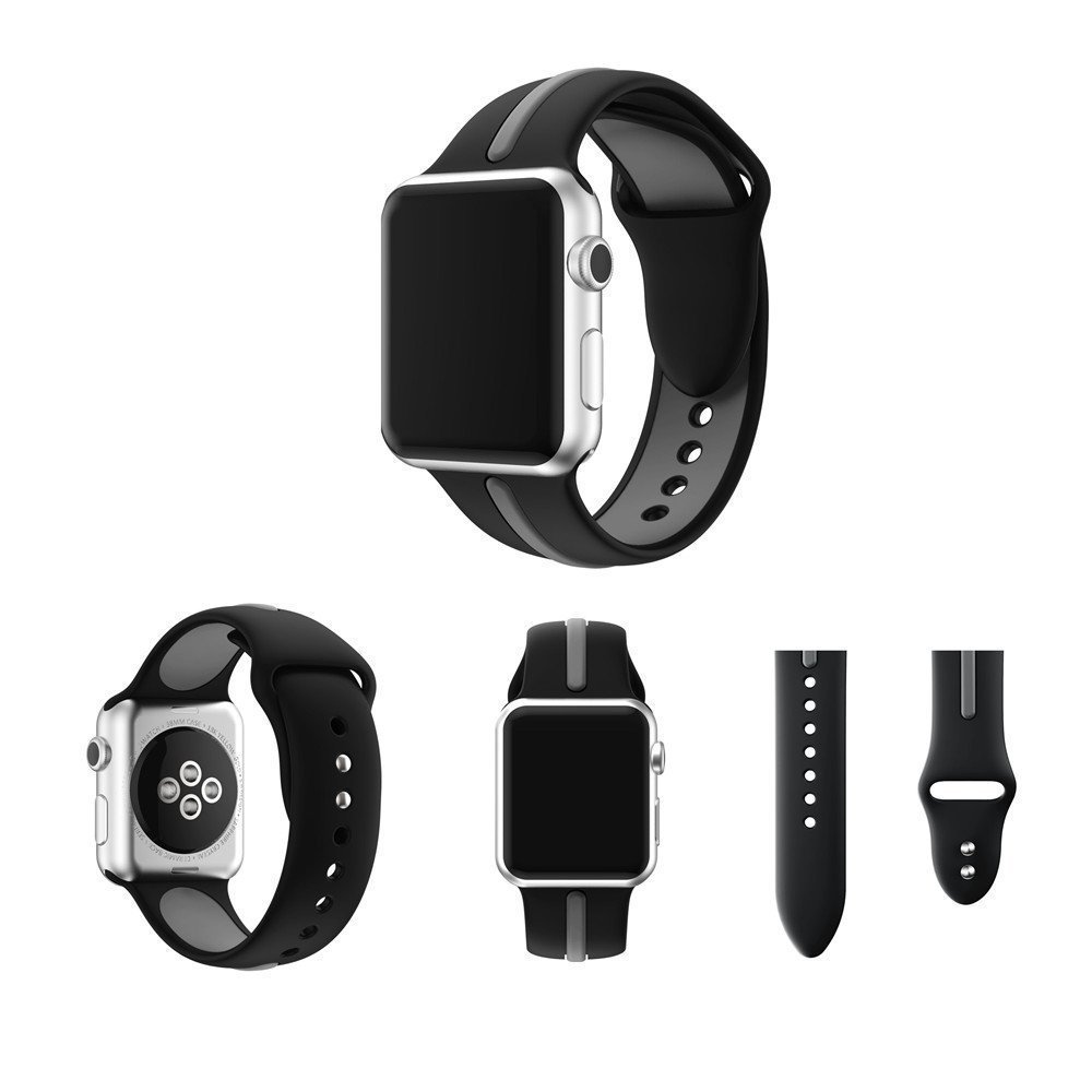 Apple watch Dual color silicon band 1