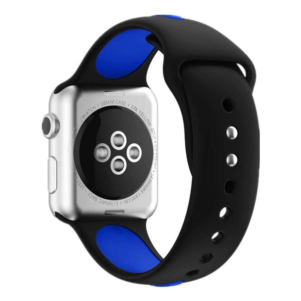 Apple watch Dual silicon Band 4