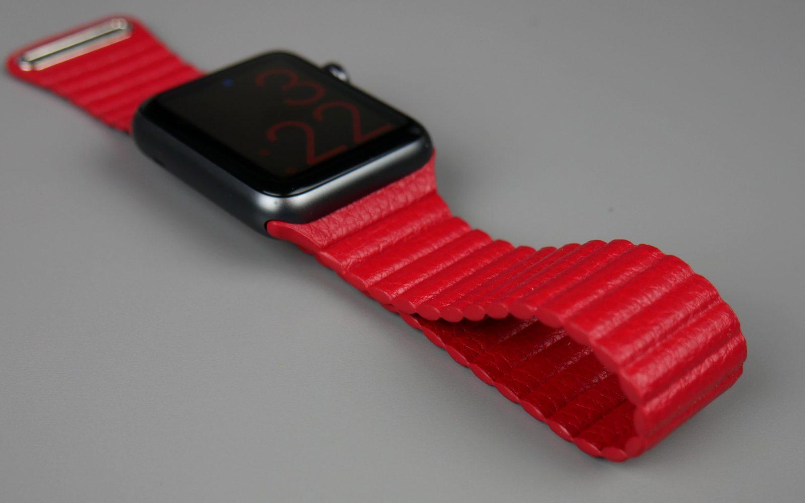Apple watch Leather Loop 1