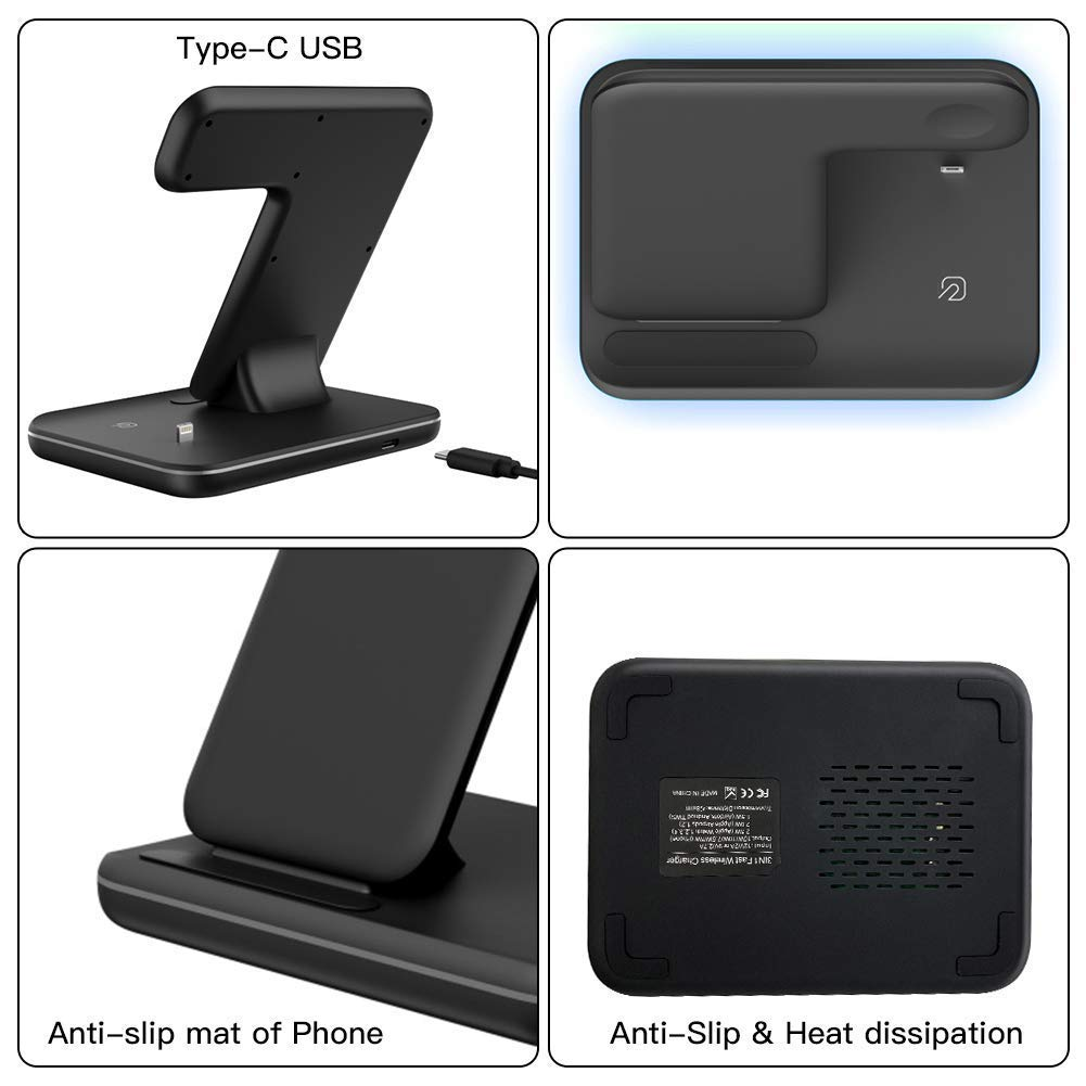 Wireless Charging station/ Fast Charger, Apple Watch Charger