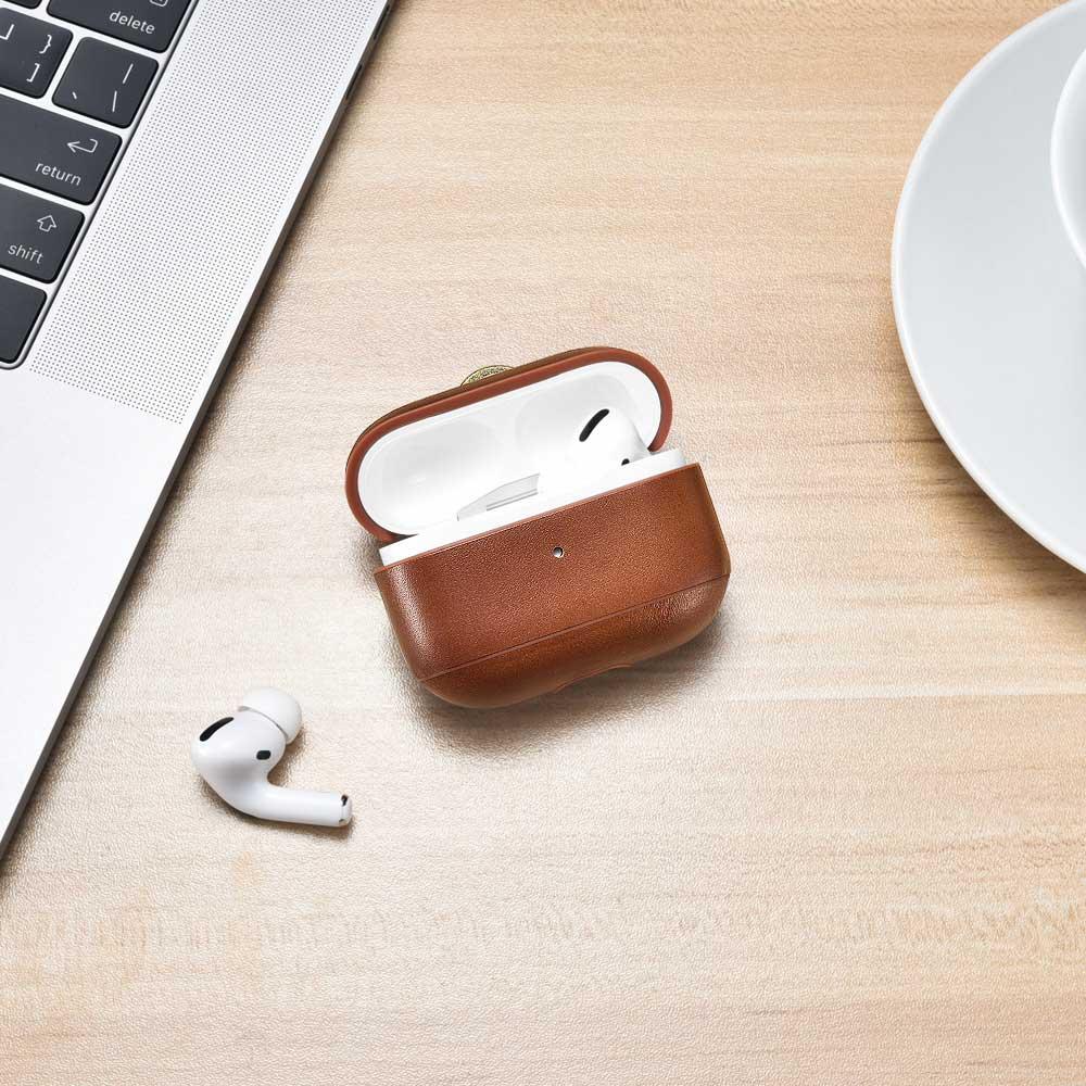 leather airpod pro case gadget bd