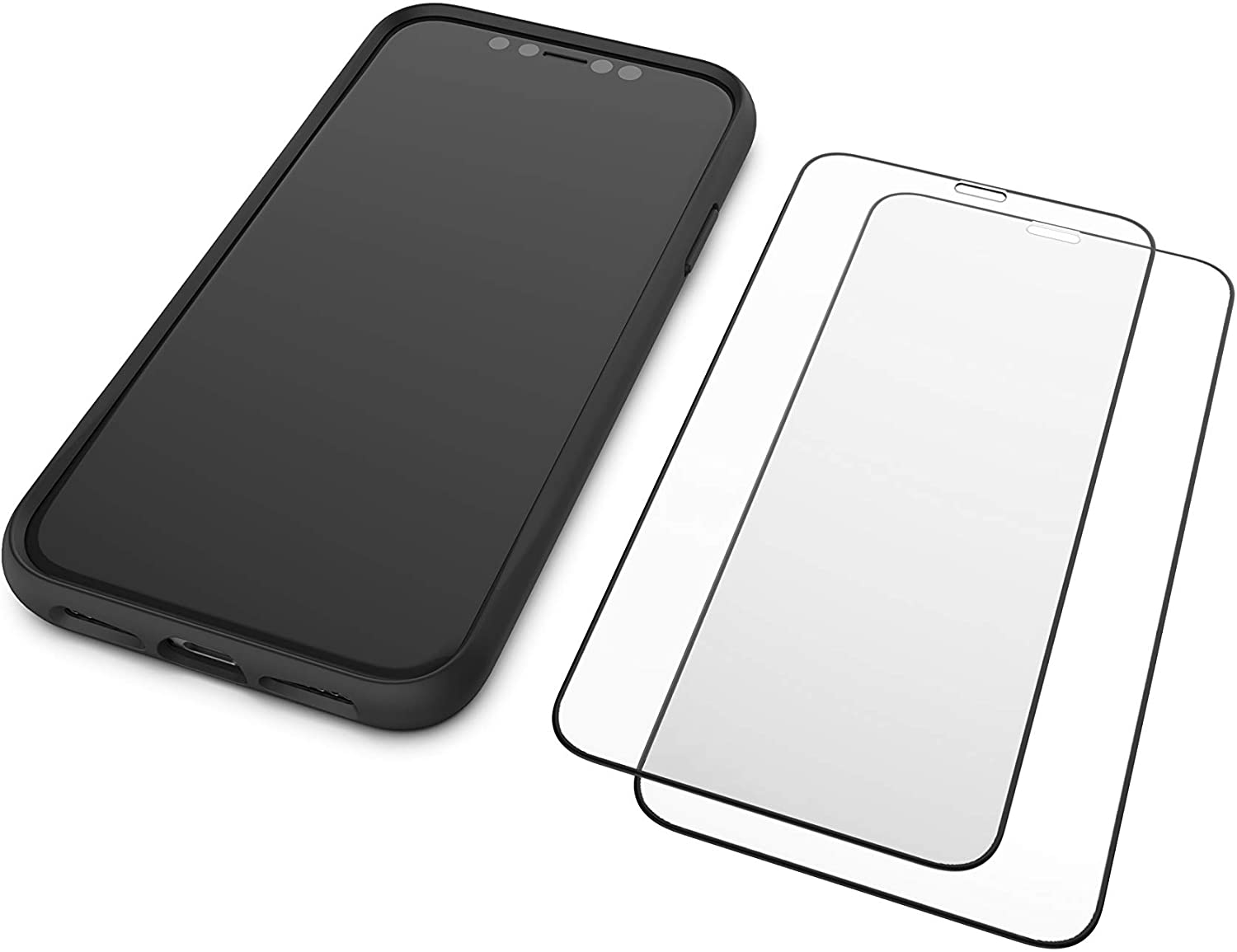 Mous - Resistant Tempered Glass Protector for iPhone 11 - Pack of 2