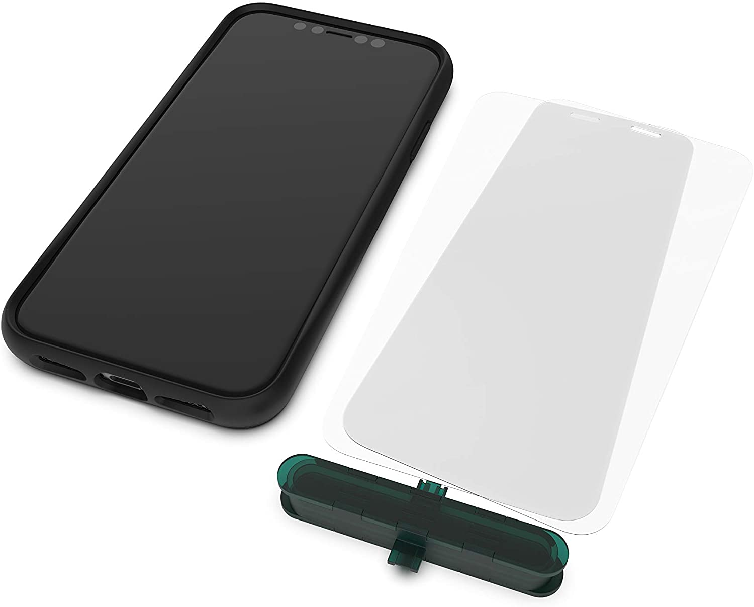 Mous - Ultra Resistant Hybrid Glass Protector for iPhone 11 Pro - Anti-Scratch & Shatterproof