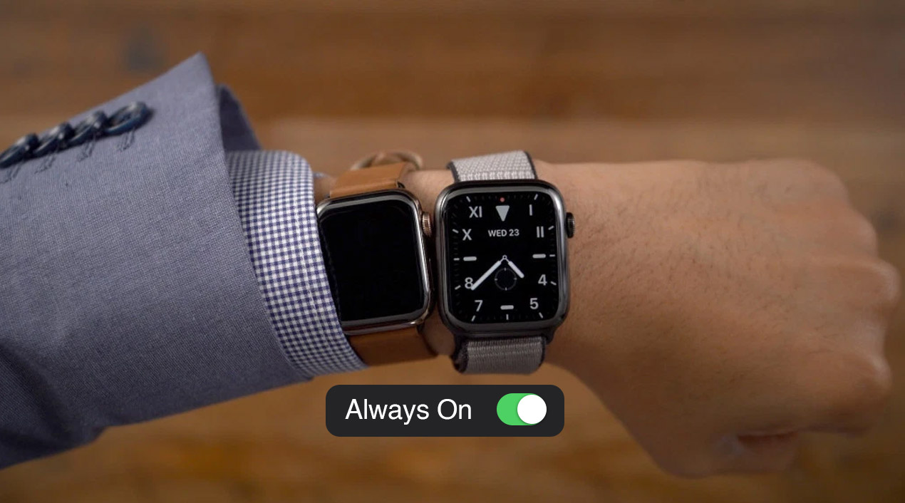 always on display apple watch