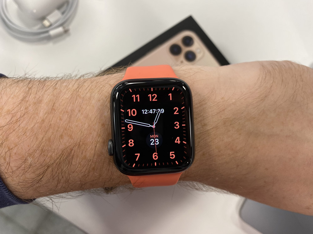 always on display apple watch