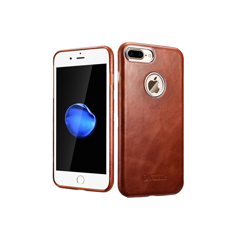 iCarer Original Leather Back Cover for iPhone 7/8 Plus