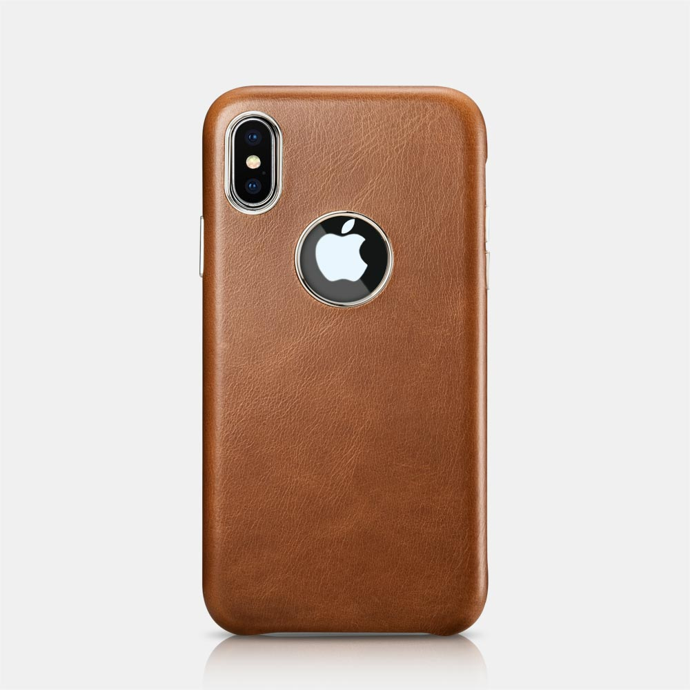 iPhone Leather cover with Logo