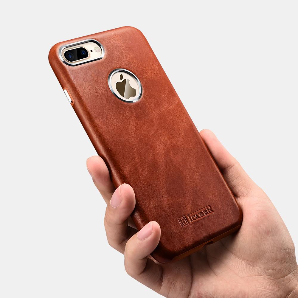 iCarer Original Leather Back Case for iPhone