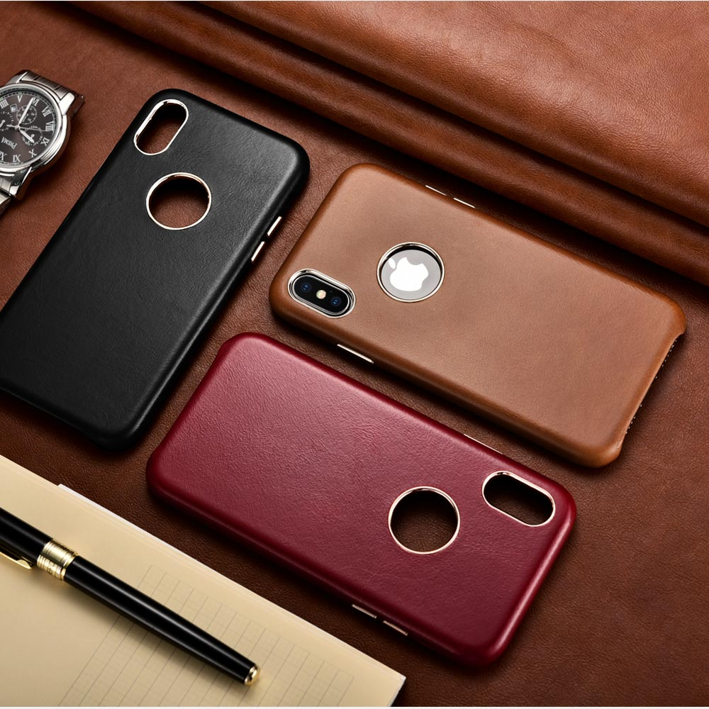 Apple iPhone leather covers