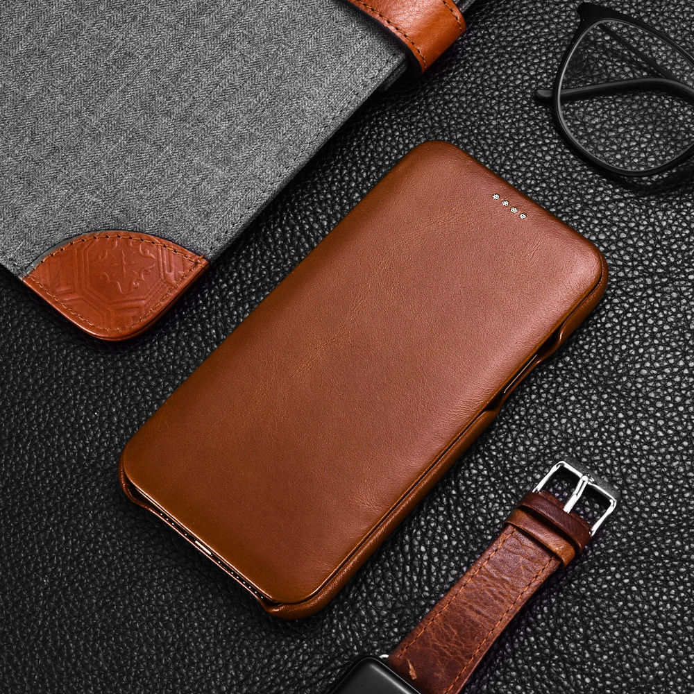 iCarer Original Leather Case for iPhone 11 Pro Max