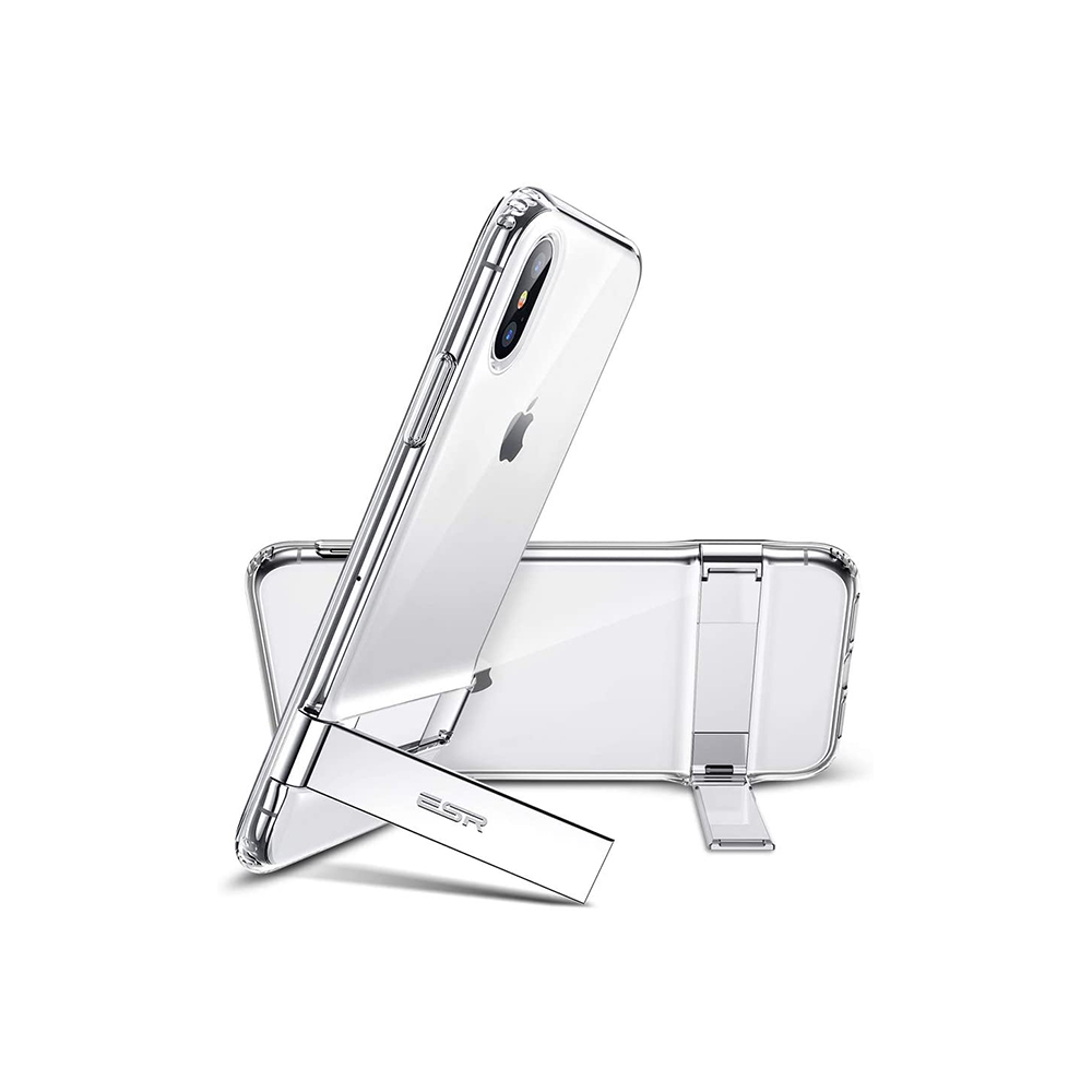 ESR Metal Kickstand Case for iPhone XS Back Case