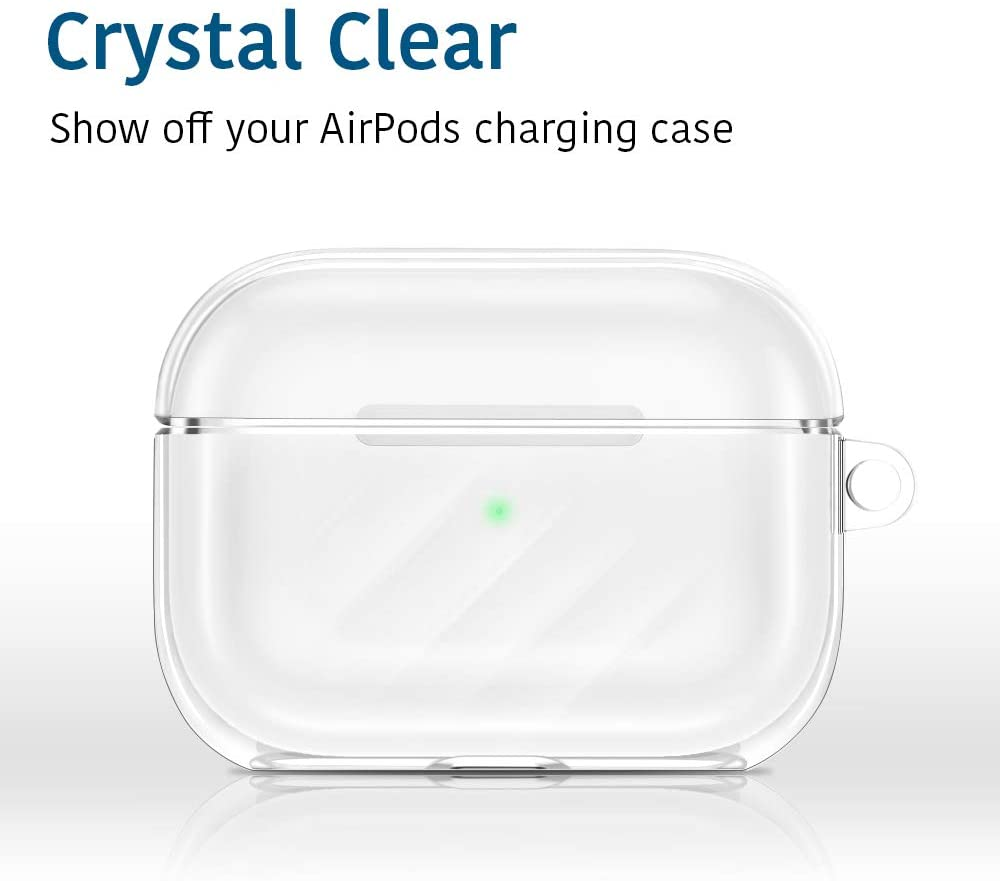 Crystal Clear Airpods case