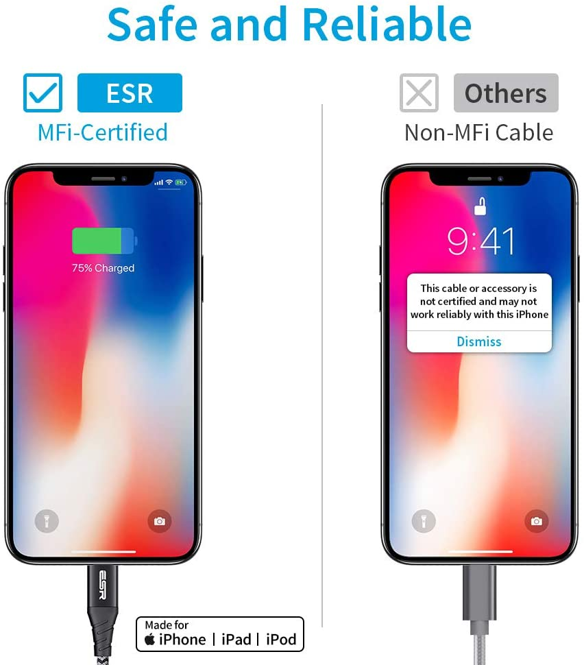 MFI certified iPhone 11 Charging Cable