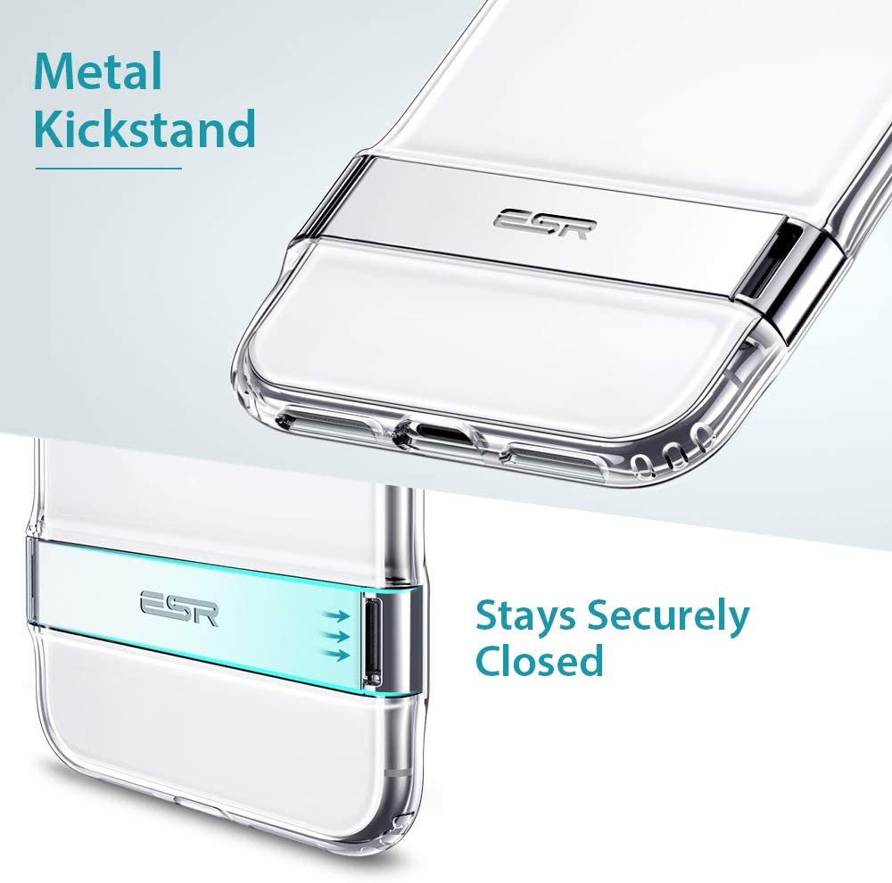 ESR Metal Kickstand Case for iPhone XS Back Cover