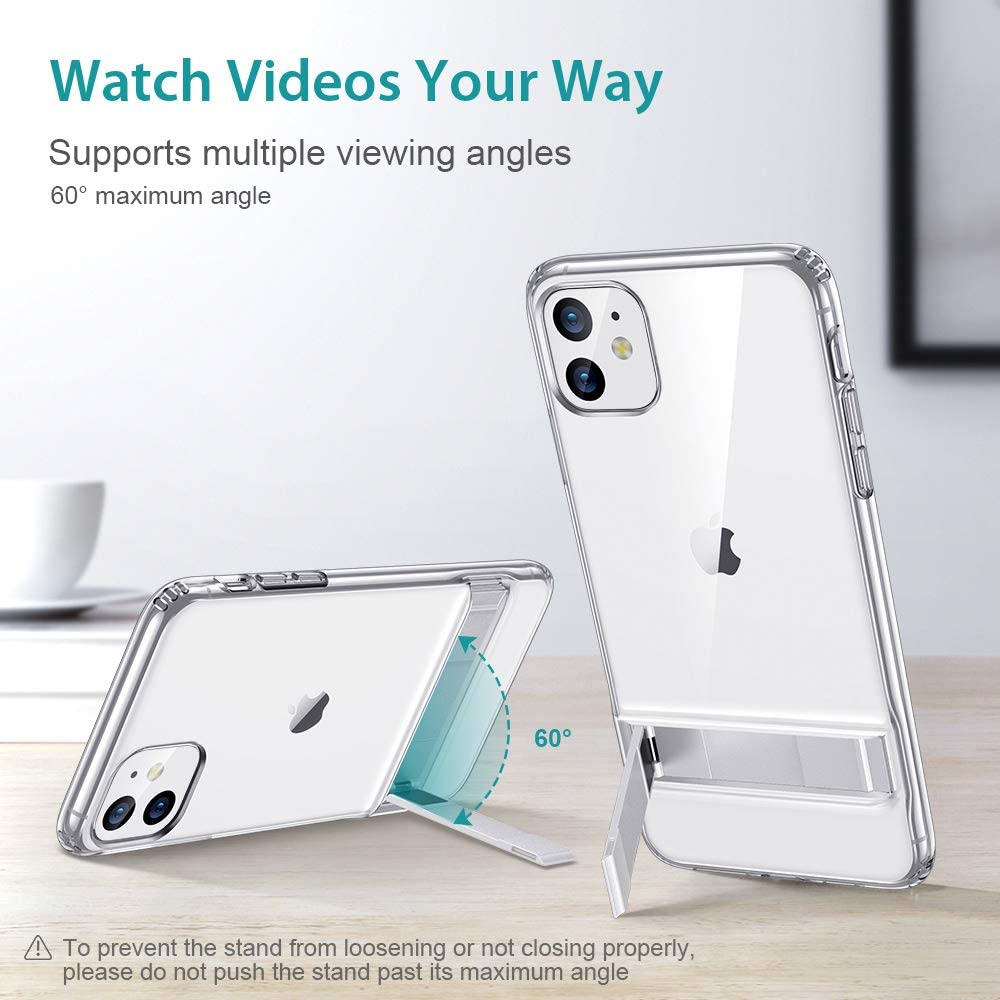 ESR Metal Kickstand Case for iPhone 11