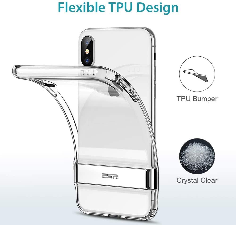 ESR Metal Kickstand Case for iPhone XS Case