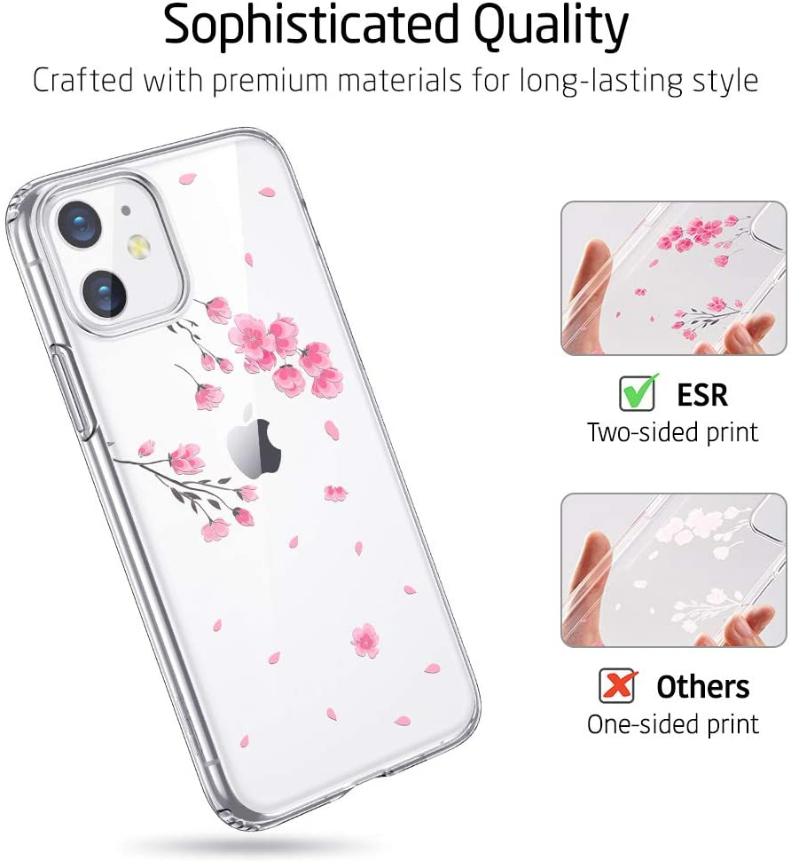 iPhone 11 Clear Case for Ladies