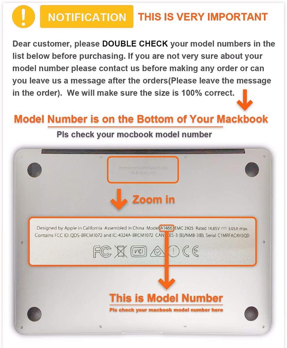 Macbook Pro Plastic Hard Shell case