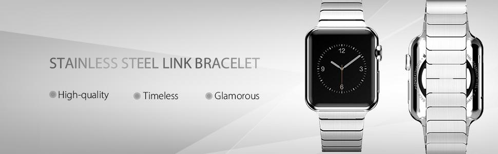 Apple Watch Stainless Steel Link Bracelet for Series 5