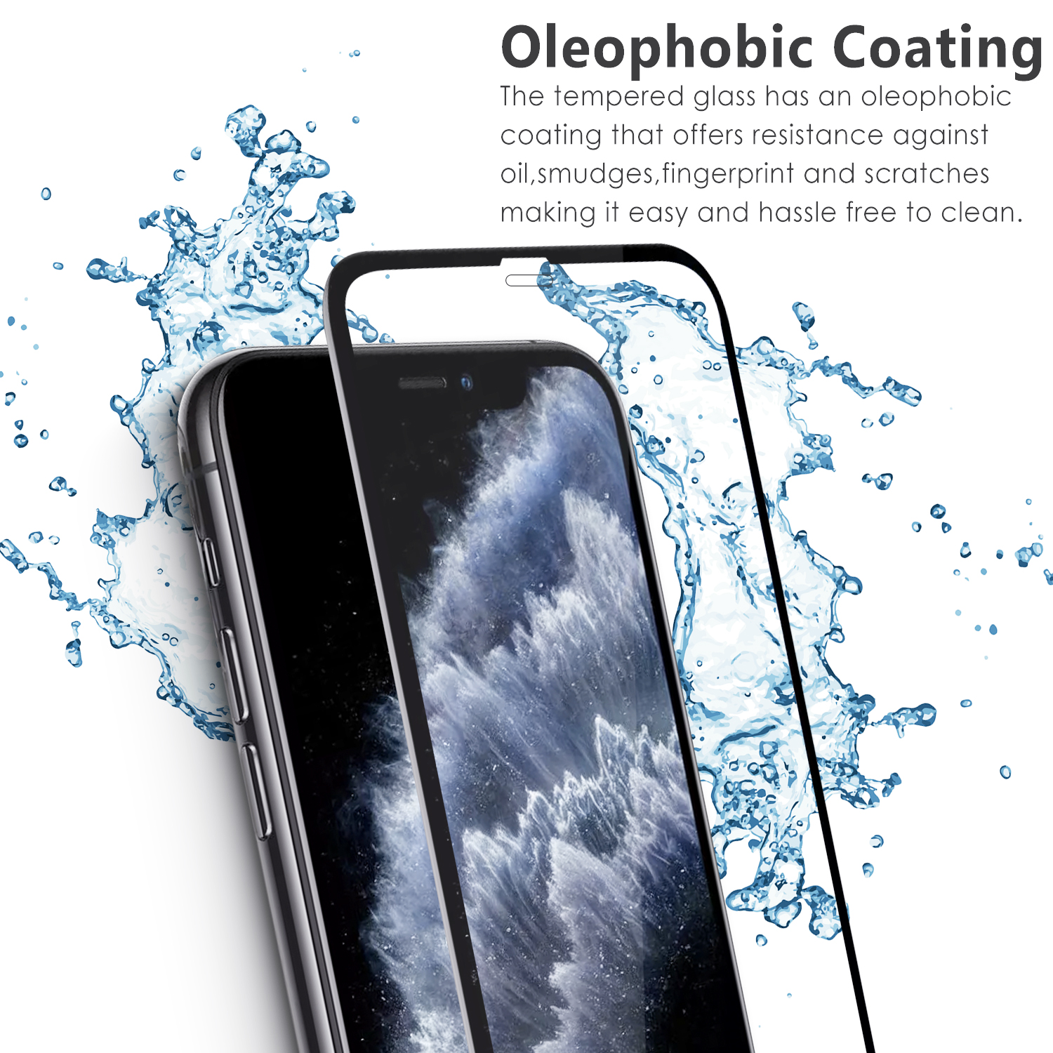 Vmax Tempered Glass screen protectors for iPhone 11 Pro