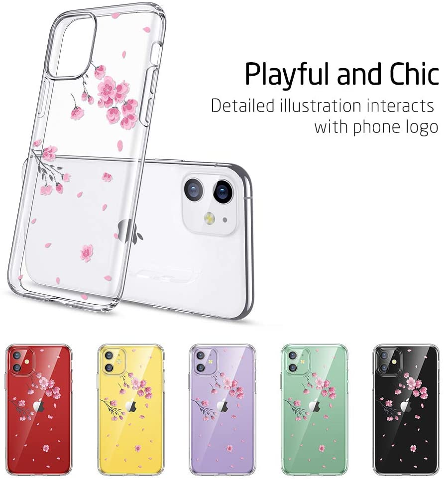 Transparent iphone case for girls