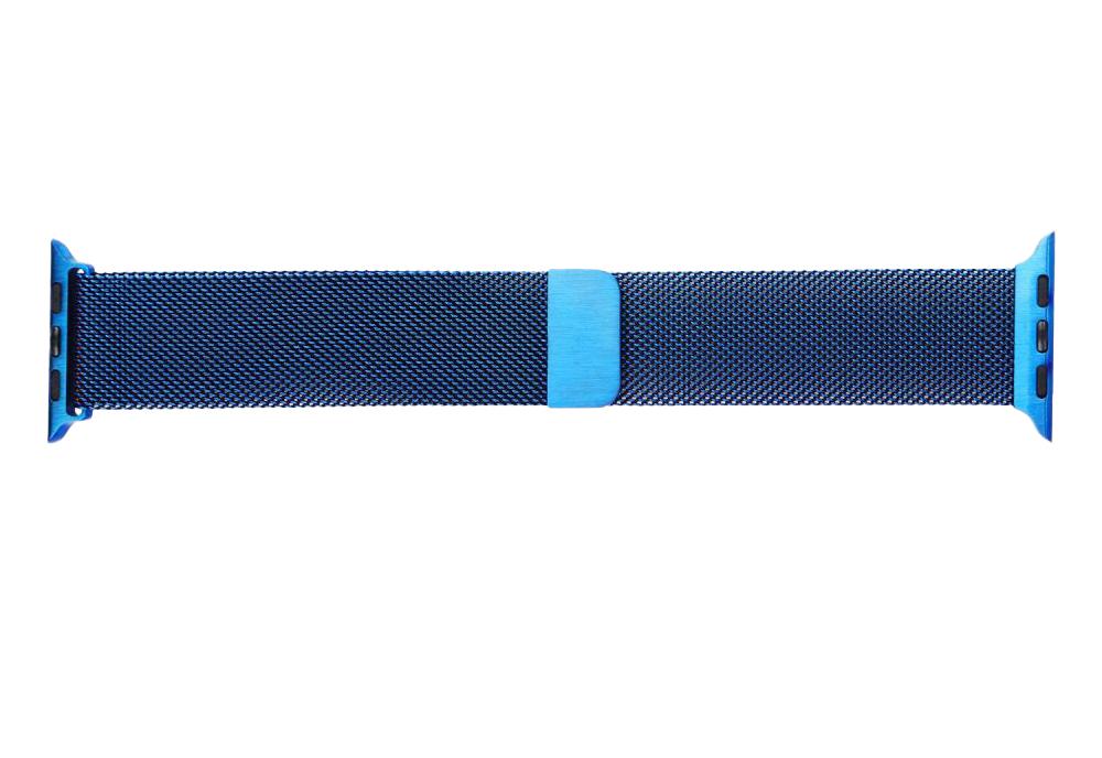Apple Watch Milanese loop BLue color
