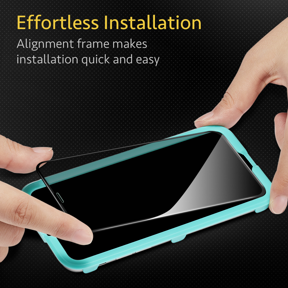Privacy Tempered Glass protector for iPhone