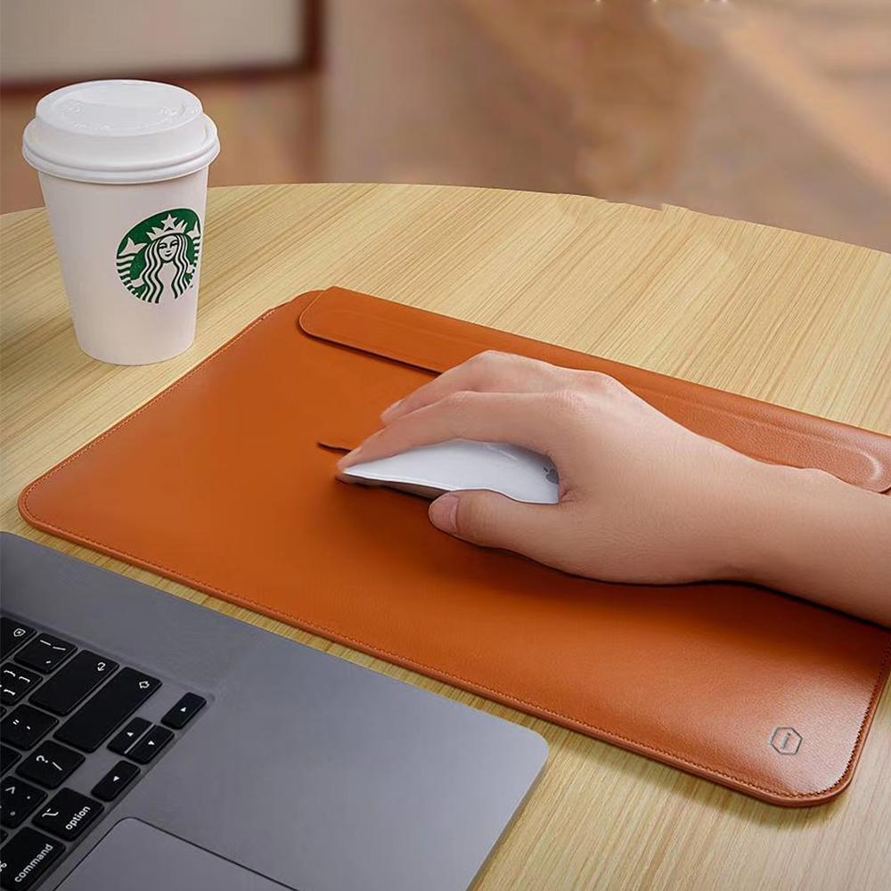 """Wiwu Macbook Sleeve Water-resistant Pu Leather Ultra-slim Sleeve 13"""""""