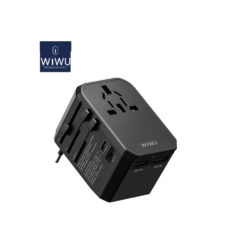 Worldwide Travel Adapter, All in One International Fast Charger with 4 USB Ports