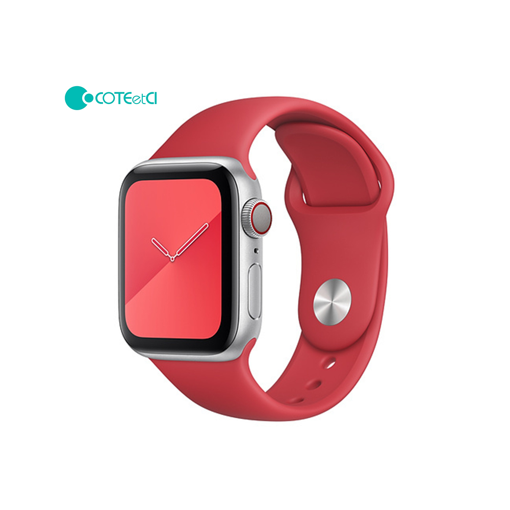 Apple Watch Silicone Band Red
