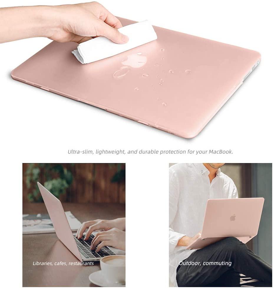 Macbook Plastic Hard Shell case Pink