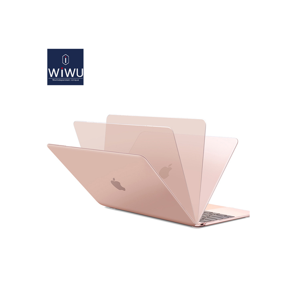 Plastic Hard shell case for Macbook Pink Color