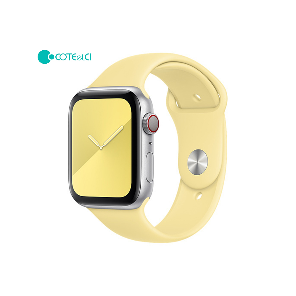 Coteetci Apple watch soft Silicone Sport bands 42mm 44mm