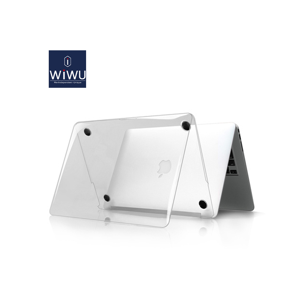 WIWU Laptop Case for MacBook Air 13 A2179 2020 Transparent Case Cover for MacBook Pro