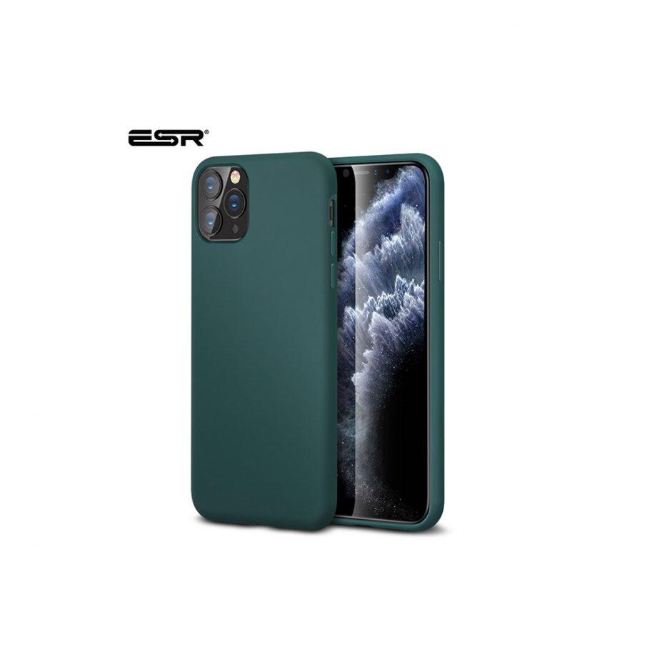 ESR Silicone Case for iPhone 11 Pro Pine Green