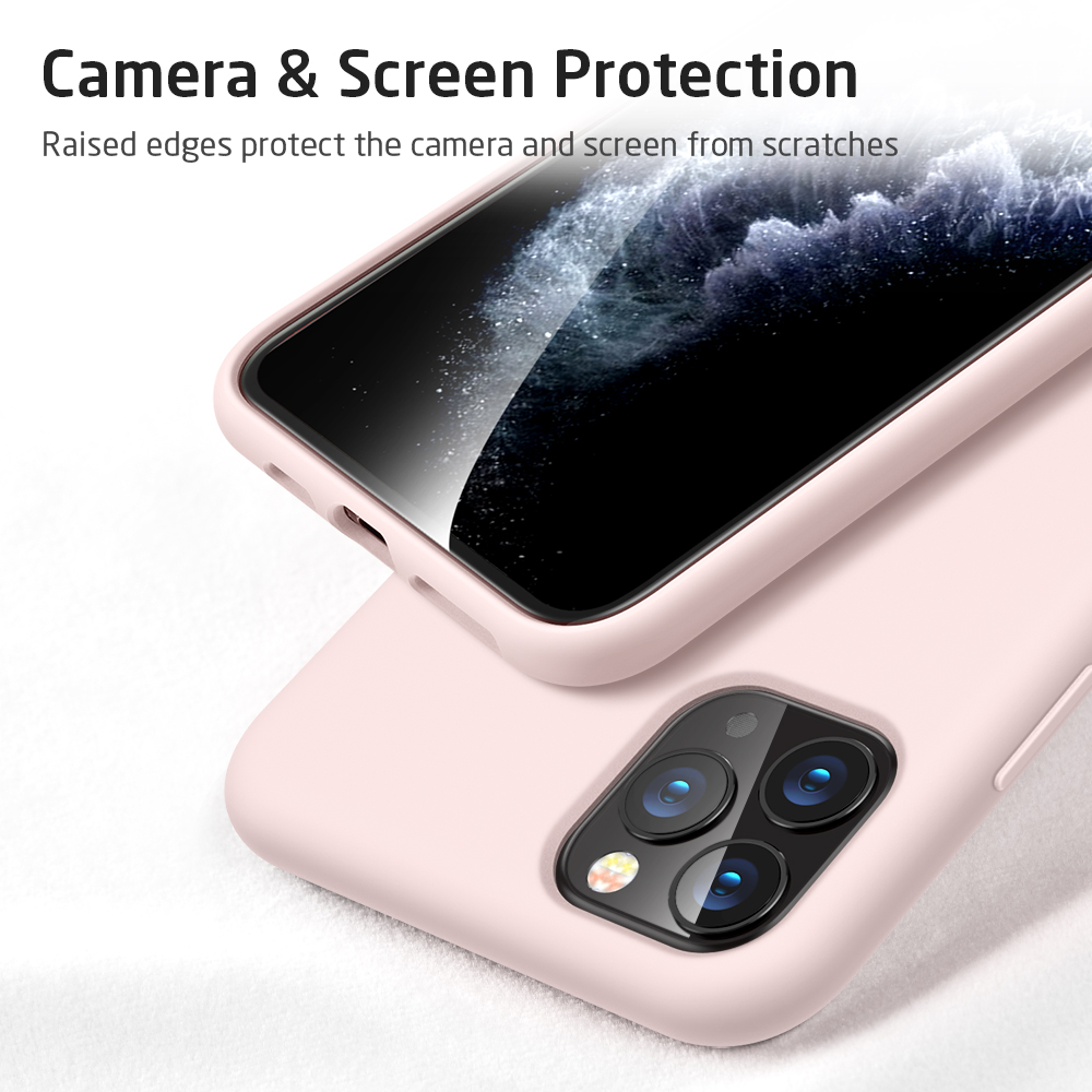 iPhone Silicone case Pink for iPhone 11 Pro Max