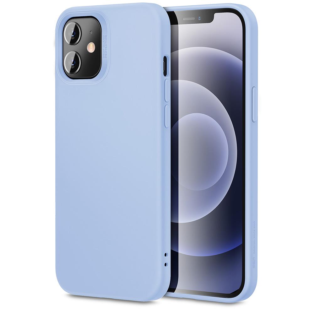 iPhone 12/ 12 mini soft silicone case purple