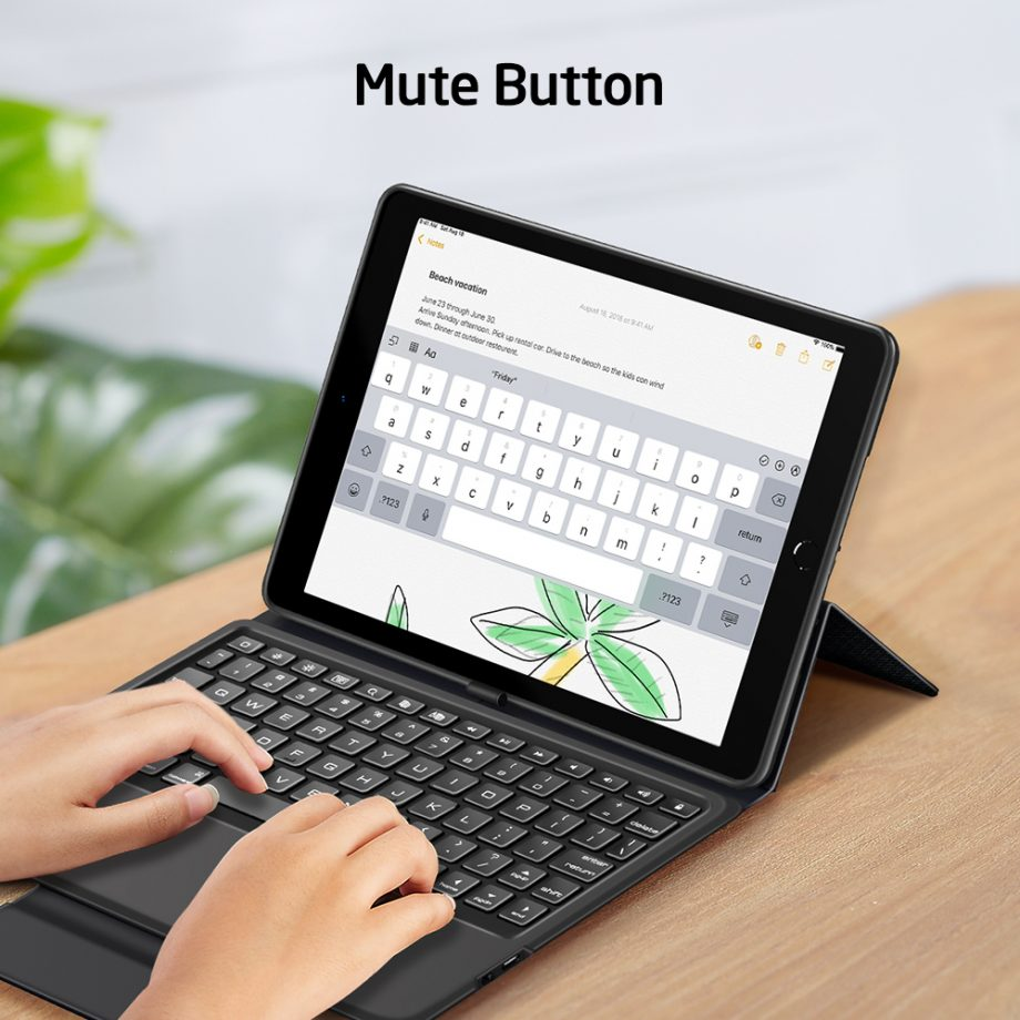 With Mute Button