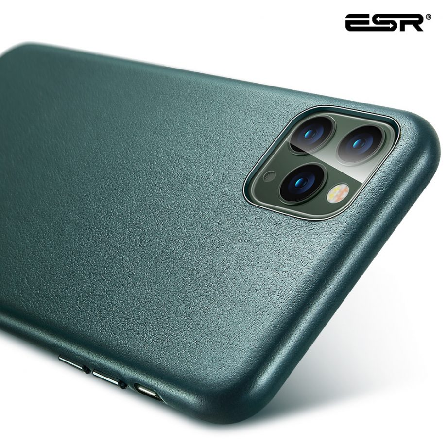 ESR real leather case Green
