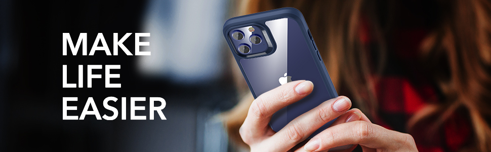 ESR iPhone 12/12 Pro Echo Tempered-Glass Hard Case