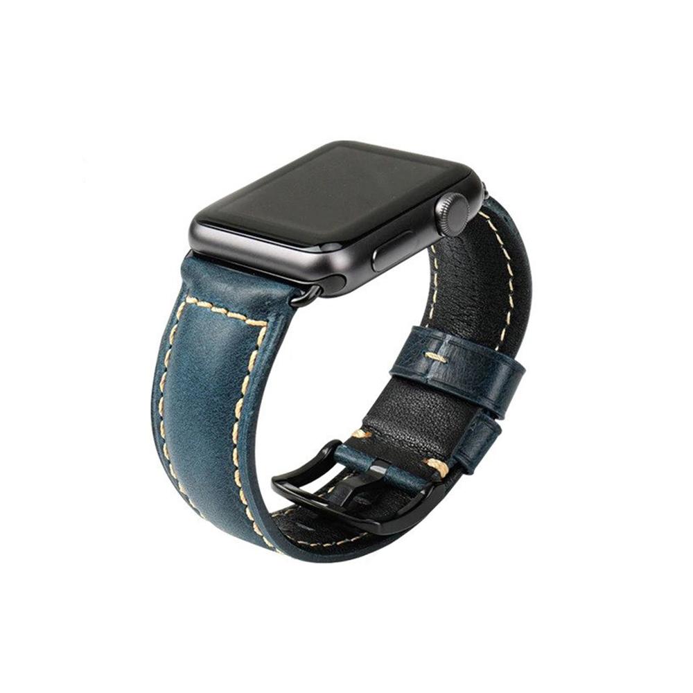 Apple Watch Original Leather Strap Blue