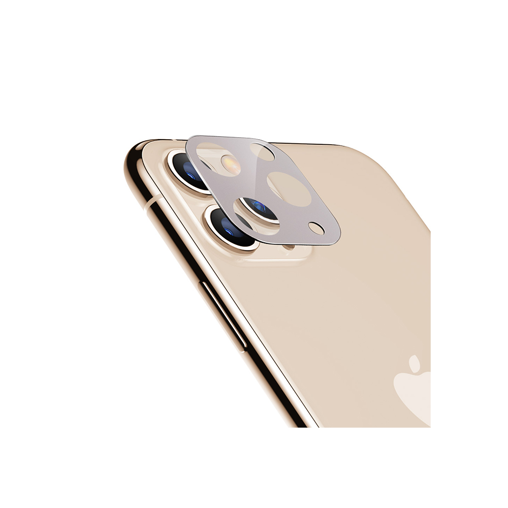 ESR, 2Pack, iPhone 11 Camera Lens Protector Silver, 9H Hardness, Case Friendly, Crystal Clear, Anti-Scratch, Gold Tempered Glass iPhone 11 Camera Lens Protector