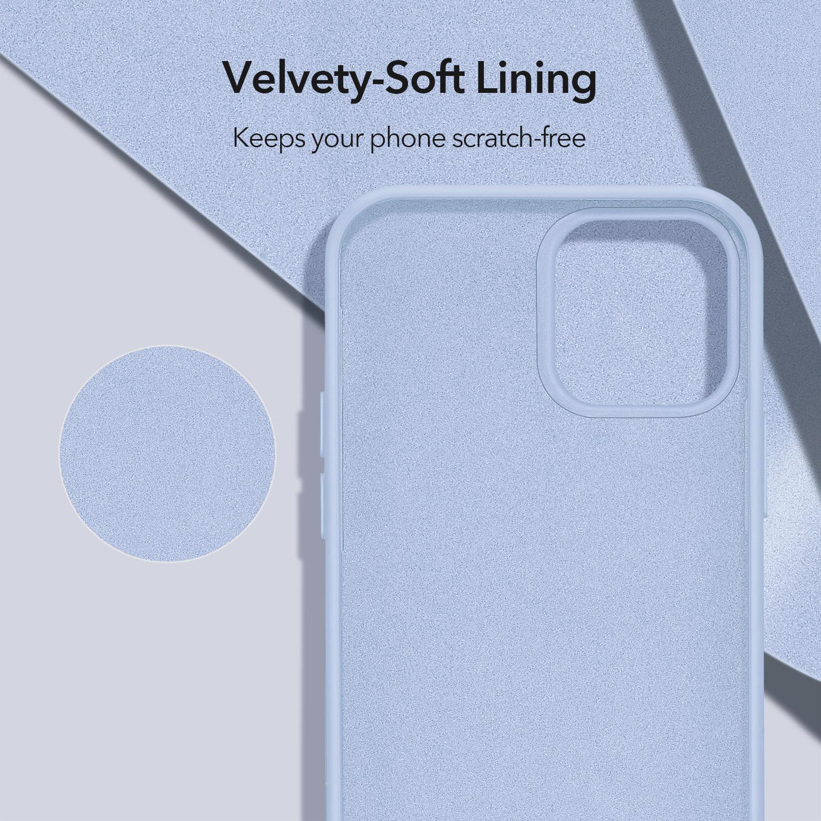iPhone 12/ 12 mini soft scratch-free silicone case purple