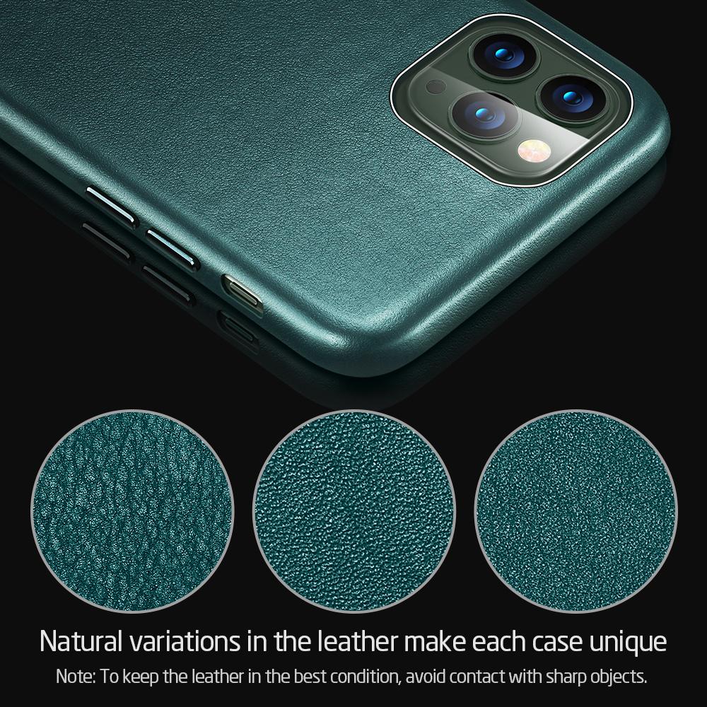Premium leather case for regular use