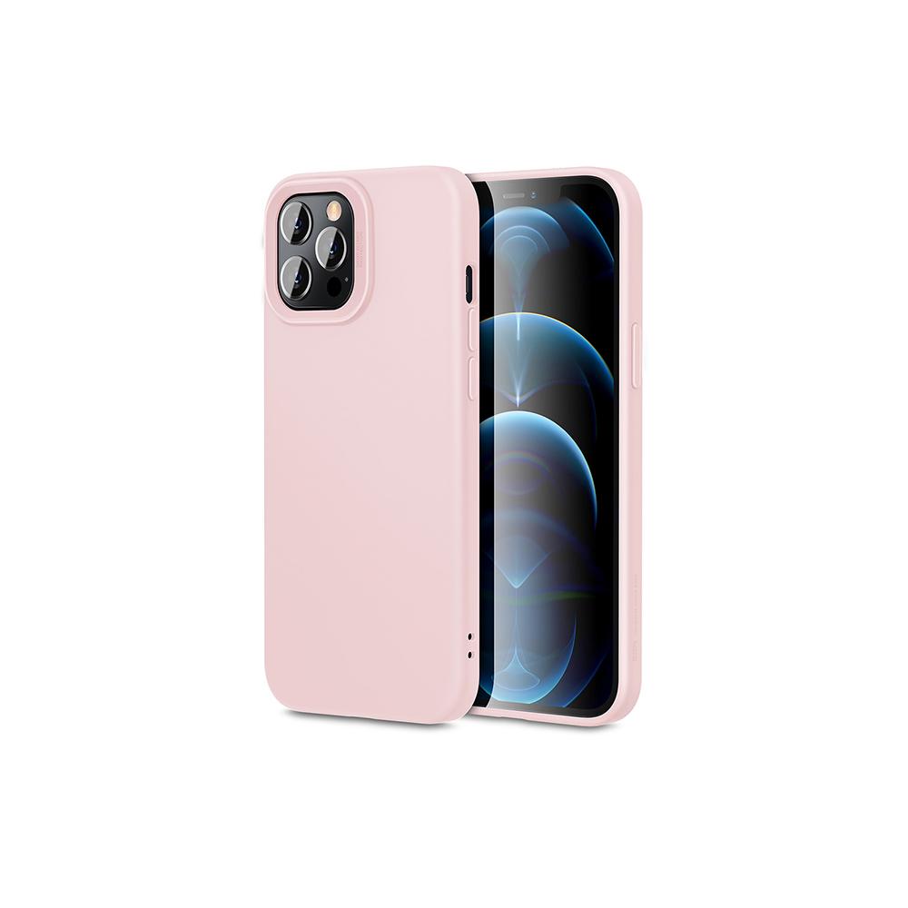 ESR Cloud soft silicone case for iphone 12/12pro/12 mini (sand pink)